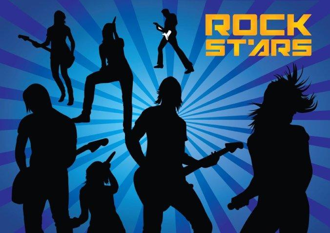 FreeVector-Rock-Stars