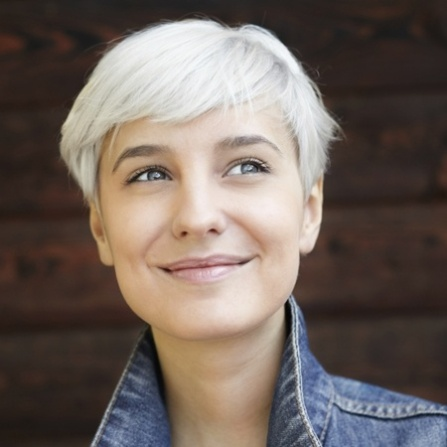 young-woman-with-gray-hair